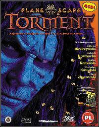 Okładka Planescape Torment (PC)