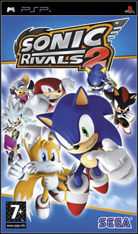 Game Box for Sonic Rivals 2 (PSP)