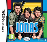 Okładka Disney Jonas (NDS)