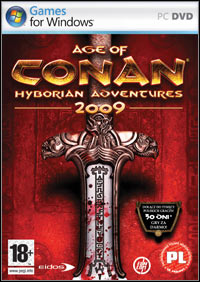 Okładka Age of Conan: Hyborian Adventures (PC)