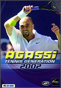 Agassi Tennis Generation 2002 cover