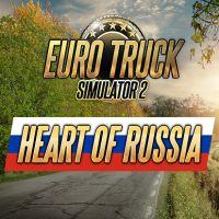 Euro Truck Simulator 2: Heart of Russia (PC cover