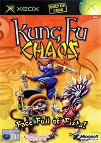 Okładka Kung Fu Chaos (XBOX)
