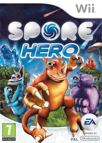 Game Box for Spore Hero (Wii)