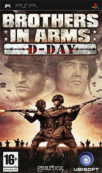 Okładka Brothers in Arms: D-Day (PSP)