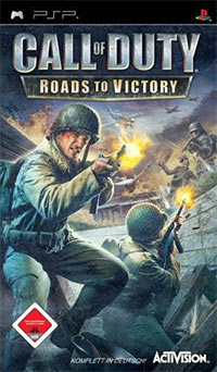 Okładka Call of Duty: Roads to Victory (PSP)