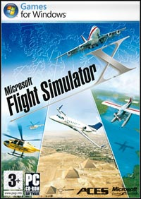 Game Box for Microsoft Flight Simulator X (PC)