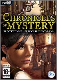 Okładka Chronicles of Mystery: Scorpio Ritual (PC)