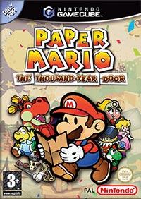 Okładka Paper Mario: The Thousand-Year Door (GCN)