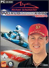 Okładka Michael Schumacher World Tour Kart 2004 (PC)