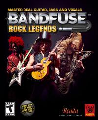 Okładka BandFuse: Rock Legends (X360)