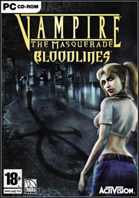 Game Box for Vampire: The Masquerade - Bloodlines (PC)