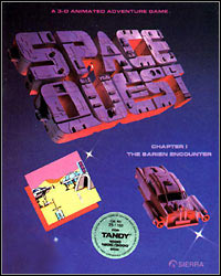 Game Box for Space Quest: The Sarien Encounter (PC)