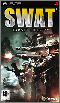 Okładka SWAT: Target Liberty (PSP)