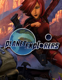 Game Box for Planet Explorers (PC)