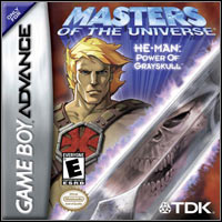 Okładka Masters of the Universe: He-Man - Power of Grayskull (GBA)