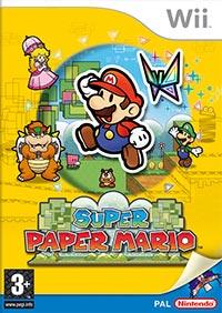 Okładka Super Paper Mario (Wii)