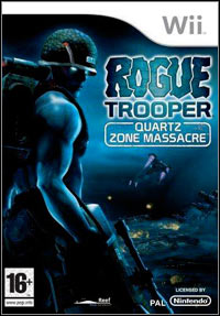 Okładka Rogue Trooper: The Quartz Zone Massacre (Wii)