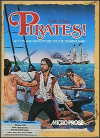 Okładka Sid Meier's Pirates! (1987) (PC)