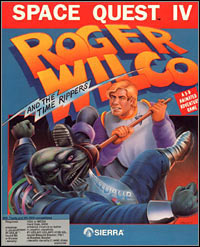 Okładka Space Quest IV: Roger Wilco and the Time Rippers (PC)