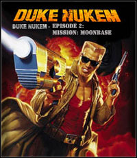Duke Nukem: Episode 2 - Mission: Moonbase cover