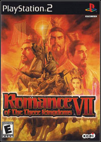 Romance of the Three Kingdoms VII (PS2 cover