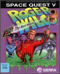 Okładka Space Quest V: The Next Mutation (PC)