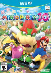 Okładka Mario Party 10 (WiiU)