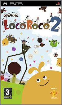 Okładka LocoRoco 2 (PSP)