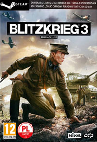 Game Box for Blitzkrieg 3 (PC)