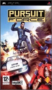 Okładka Pursuit Force (PSP)