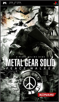 Okładka Metal Gear Solid: Peace Walker (PSP)