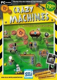Okładka Crazy Machines: New From the Lab (PC)