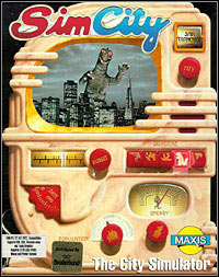 Okładka SimCity (1989) (PC)