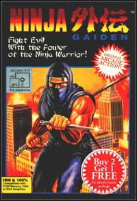 Okładka Ninja Gaiden (1991) (PC)