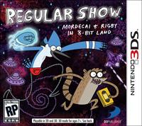 Okładka Regular Show: Mordecai and Rigby in 8-Bit Land (3DS)
