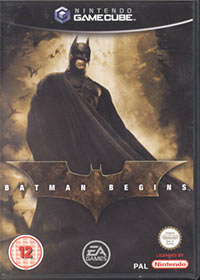Game Batman Begins (GCN) cover