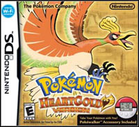 Game Box for Pokemon HeartGold (NDS)
