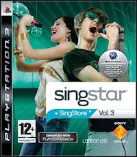 Okładka SingStar Vol. 3 (PS3)