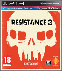 Game Box for Resistance 3 (PS3)