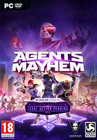 Game Agents of Mayhem (PC) cover
