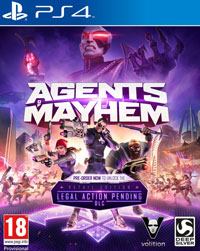 Game Agents of Mayhem (XONE) cover