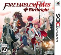 Okładka Fire Emblem Fates: Birthright (3DS)