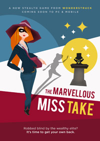 The Marvellous Miss Take (PC cover