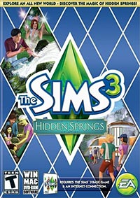 Okładka The Sims 3: Hidden Springs (PC)