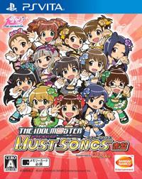 Okładka The Idolmaster Must Songs - Aka-Ban (PSV)