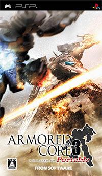 Okładka Armored Core 3 Portable (PSP)