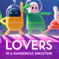 Game Lovers in a Dangerous Spacetime (PC) cover