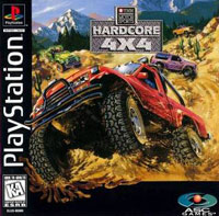 Game Box for Hardcore 4X4 (PS1)