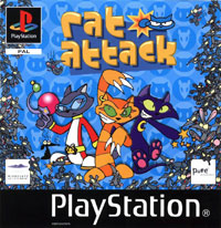 Game Box for Rat Attack! (PS1)